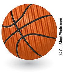 Basketball ball - Detailed basketball ball isolated on the ...