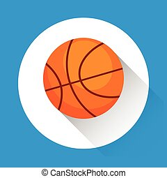 Basketball Ball Game Equipment Sport Icon