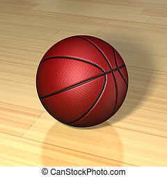 Basketball ball Isolated on background