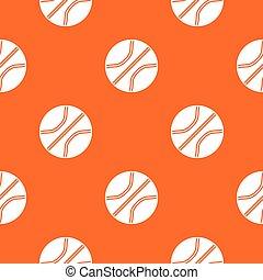 Basketball ball pattern seamless