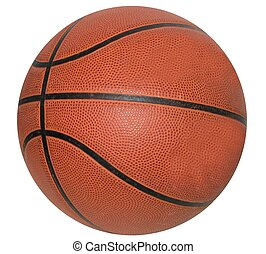 Basketball - basketball on white background