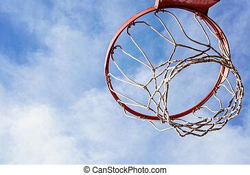 Basketball cage