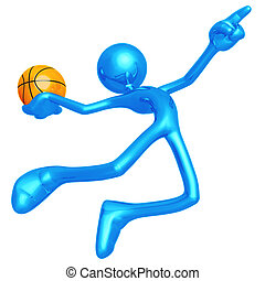 Basketball Calling The Shot Slam