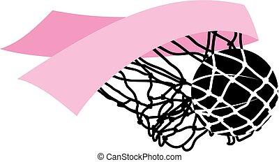 Basketball Cancer Awareness