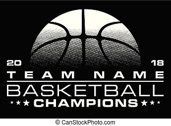 Basketball Champions Design With Team Name is an ...