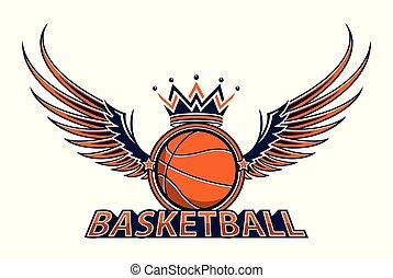 Basketball championship logo vector