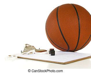 Basketball coach's items