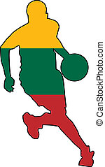 basketball colors of Lithuania