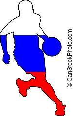 basketball colors of Russia
