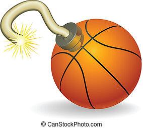 basketball, countdown, abbildung