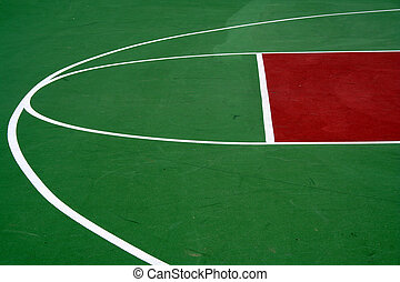 Basketball Court - an image of a Basketball court