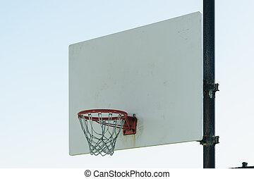 Basketball court outdoor