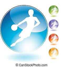 Basketball Crystal Icon