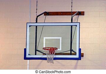 Basketball Hoop - School basketball hoop