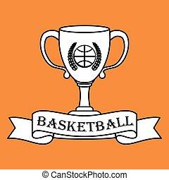 Basketball icon design , vector illustration