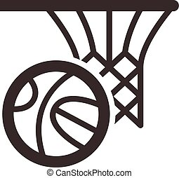 basketball icon - Summer sports icons set - basketball icon...