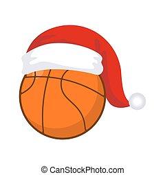 Basketball santa cap Vector Clipart EPS Images. 8 ...