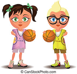 basketball, kinder