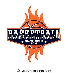 Basketball logo, America logo