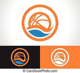 Basketball Logo Icon