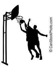 Basketball man one