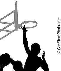Basketball man one