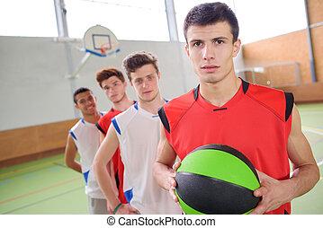 basketball mannschaft