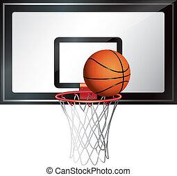 Basketball Net vector