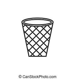 basketball net vector design template illustration