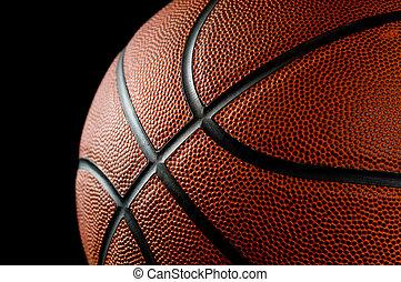 Basketball on black - Brand new basketball on black...