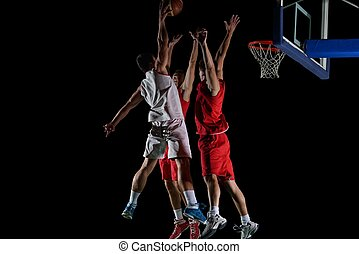 basketball player in action - basketball game sport player ...