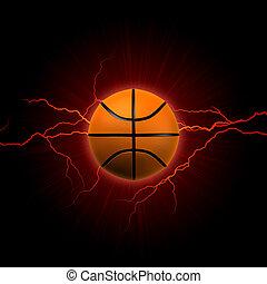 basketball, rotes , blitz