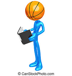 Basketball Rulebook - 3D Concept And Presentation Figure