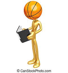 Basketball Rulebook - 3D Concept And Presentation Figure