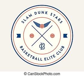 basketball slam dunk stars