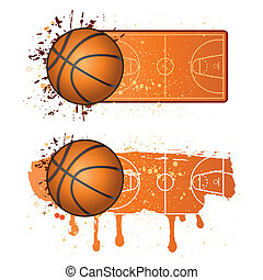 basketball sport design elements