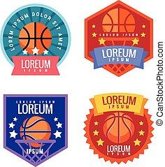 Basketball Tournament emblem.