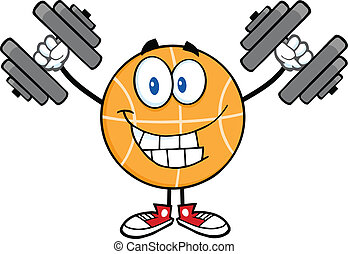 Basketball Training With Dumbbells
