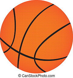 basketball isolated over white background. vector...