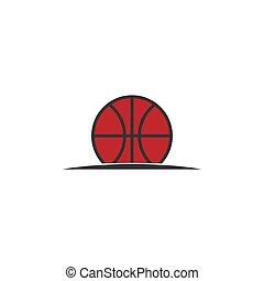 basketball vector design template illustration