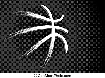 Basketball, vector