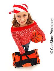 basketballspieler, m�dchen