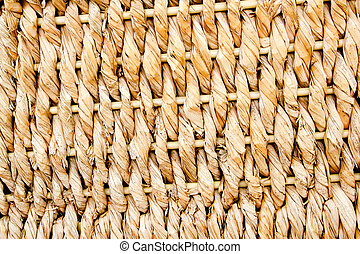 basketry traditional texture of twisted reeds