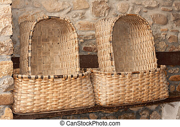 Baskets for bread, handicraft.