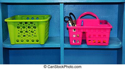 Baskets Ready for School