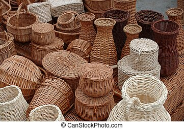 Baskets - Wicker baskets