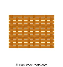 basketweave tile for Christmas background or Christmas elements isolate on white background vector