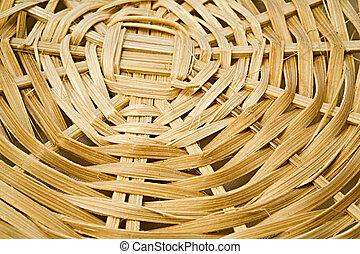 Basketwork - A rough basketwork textured background
