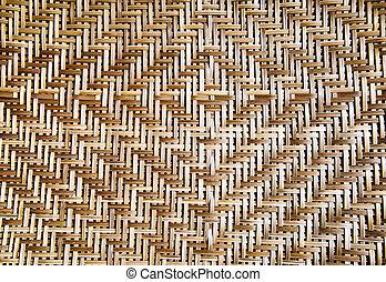 basketwork bamboo pattern background