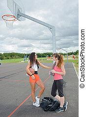 basquetebol, após